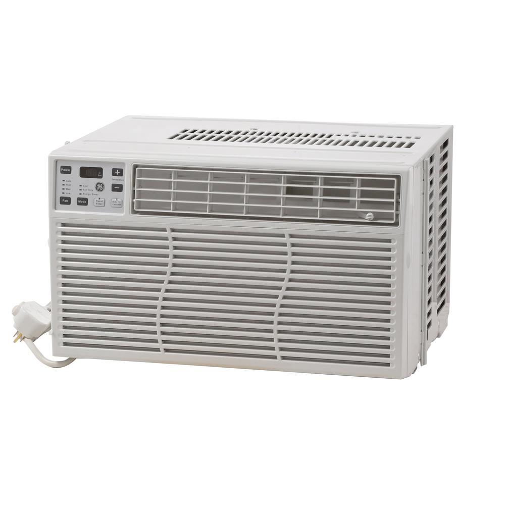 GE 8000 BTU Through the Window Smart Room Air Conditioner with WiFi