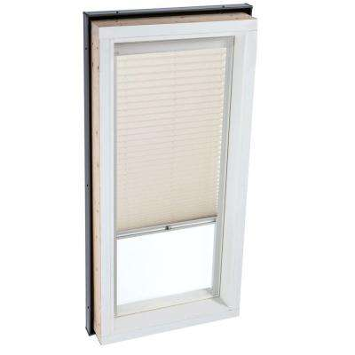Manual Light Filtering Classic Sand Skylight Blinds for FCM 2222 and QPF 2222 Models