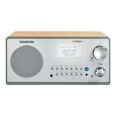 FM/AM HD Wooden Cabnet Stereo Radio