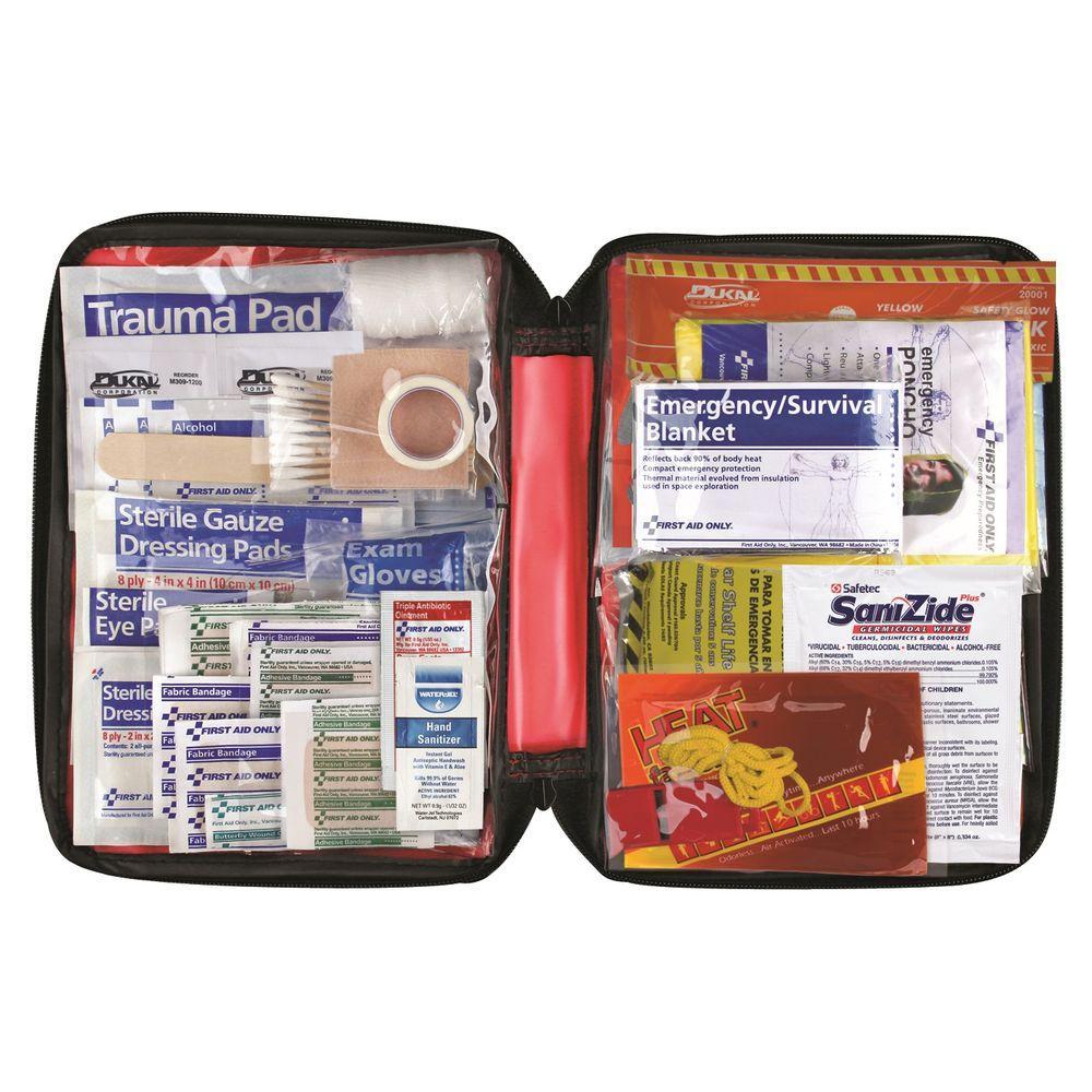 105-Piece Emergency Preparedness with First Aid Kit