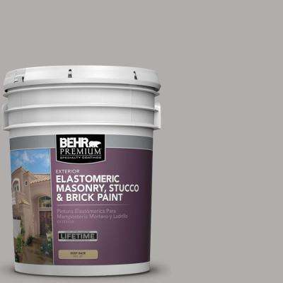 Ms 81 Crater Gray Elastomeric Masonry Stucco And Brick Exterior