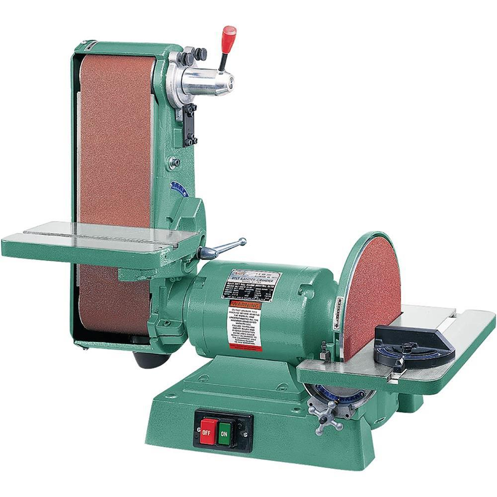 Grizzly Industrial 6 inch x 48 inch Belt 12 inch Disc 1725 RPM Combination Sander