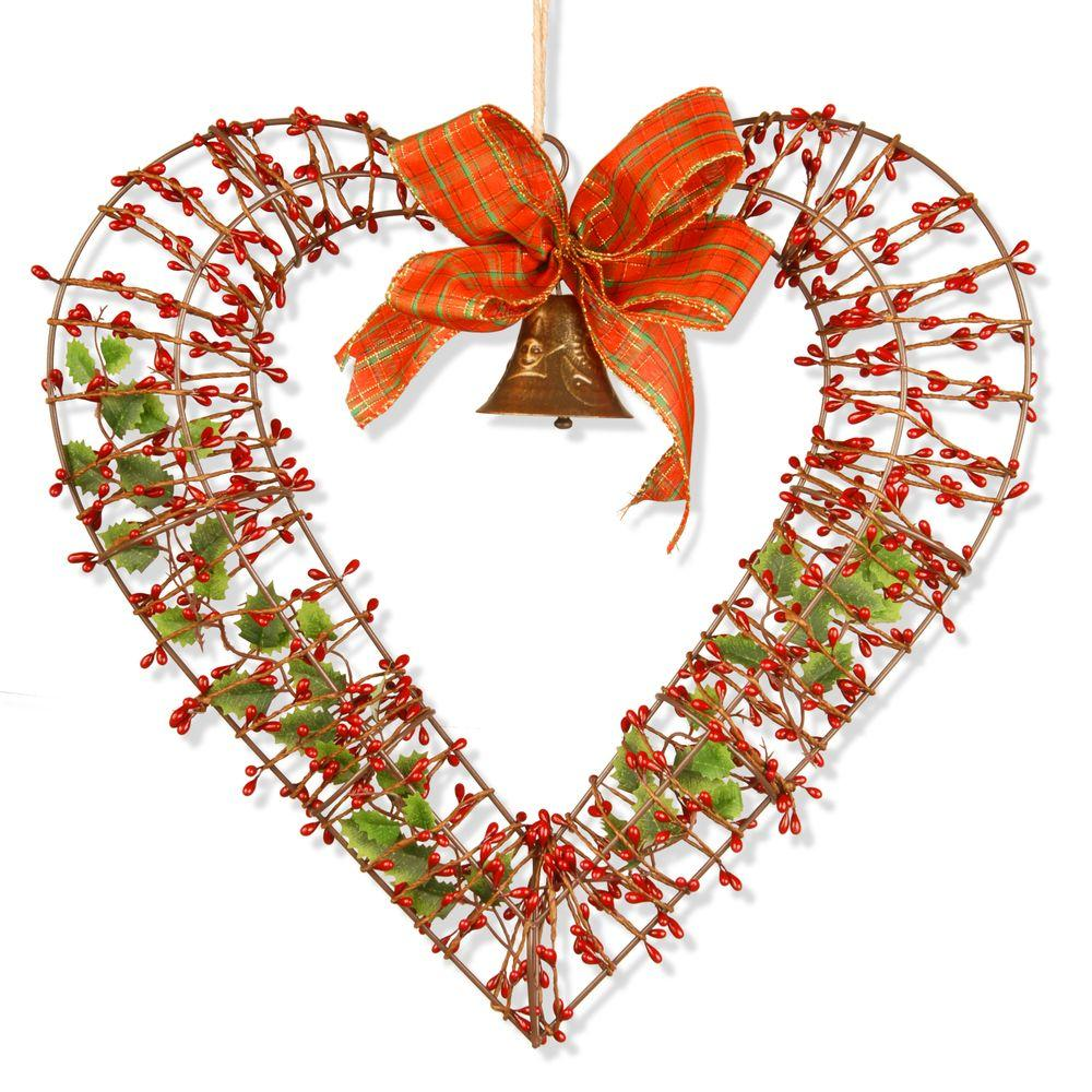 National tree company 16 in valentine heart decor rav for Hearts decorations home