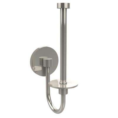 Skyline Collection Upright Single Post Toilet Paper Holder in Polished Nickel