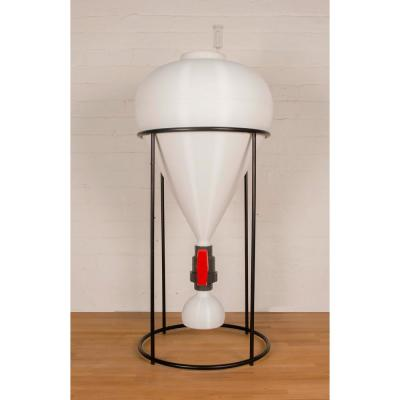 14 Gal. FastFerment Conical Fermenter - Home-Brew- Primary Carboy Fermenter Beer Wine Fermentation with Stand Included
