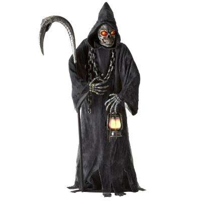 6 ft. Animated LED Reaper with Lantern