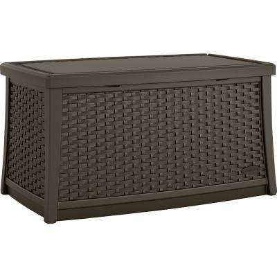 Elements Resin Outdoor Coffee Table with Storage