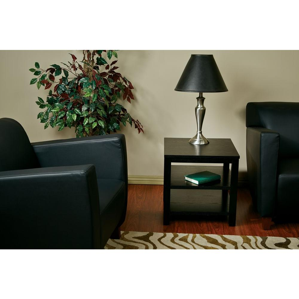 Merge Black End Table