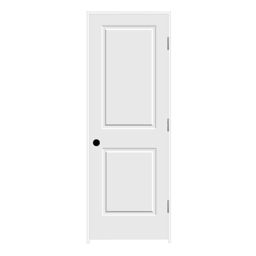 Upc 733259100183 Prehung Doors Jeld Wen Doors Carved C2020 Smooth 2 Panel Primed Mdf Prehung