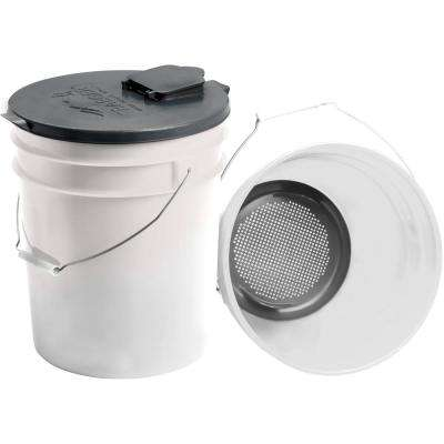 Pellet Storage Lid and Filter Kit