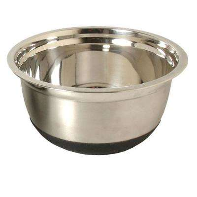 4 qt. Stainless Steel Mixing Bowl with Silicone Base