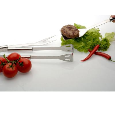 Geminis Stainless Steel BBQ Tool Set with Storage Case (Set of 4)