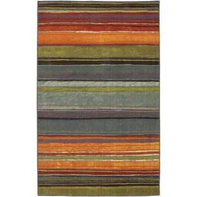 Rainbow Multi 5 ft. x 8 ft. Area Rug