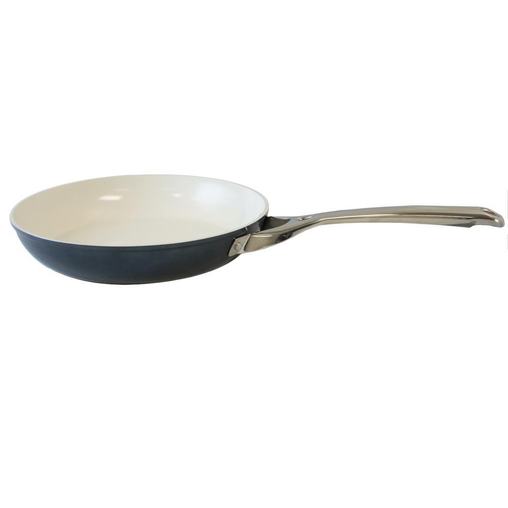 oster crisanta ceramic frying pan 985100870m the home depot. Black Bedroom Furniture Sets. Home Design Ideas