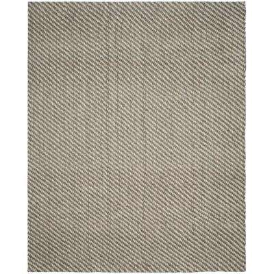 Natural Fiber Natural/Gray 8 ft. x 10 ft. Area Rug