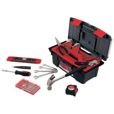 Household Tool Kit with Tool Box (53-Piece)