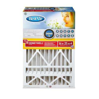16 in. x 25 in. x 4 in. Honeywell FPR 10 Air Cleaner Filter
