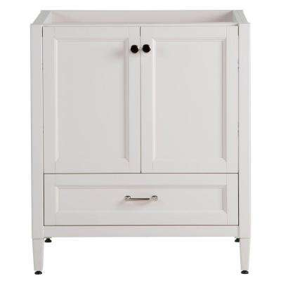 Claxby 30 in. W Bath Vanity Cabinet Only in Cream