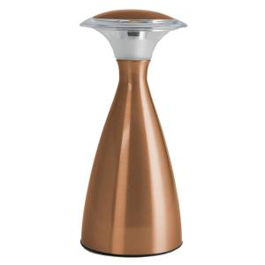 Lanterna LUX 9 in. Copper Indoor/Outdoor Touch LED Wireless Lamp
