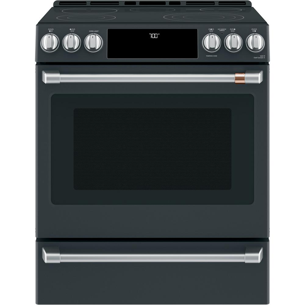 30 in. 5.7 cu. ft. Slide-In Electric Range with Self-Cleaning Convection