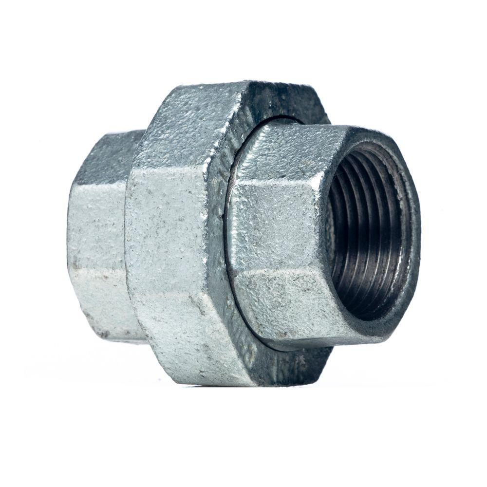 Mueller Global 1/2 in. Galvanized Malleable Iron FPT x FPT Union
