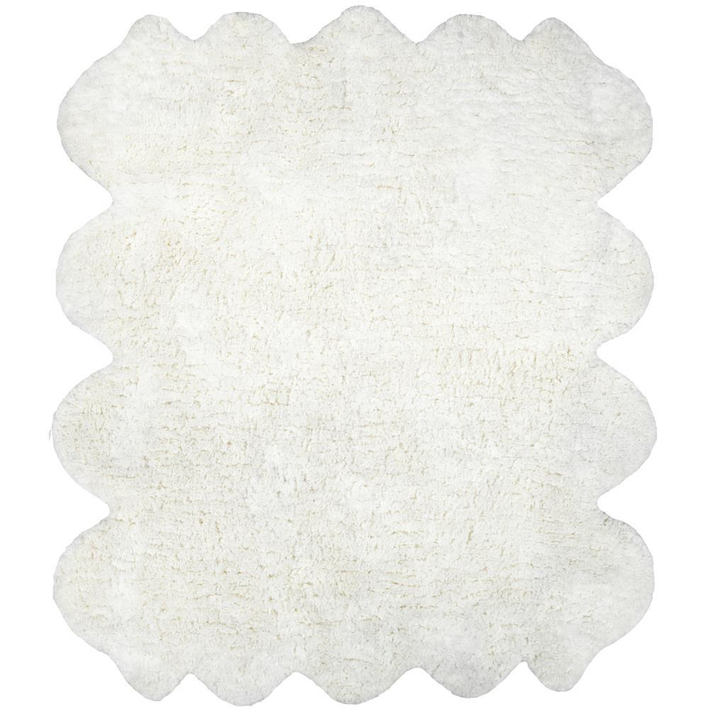 nuLOOM Octo Pelt Faux Sheepskin Natural 6 ft. x 7 ft. Area Rug