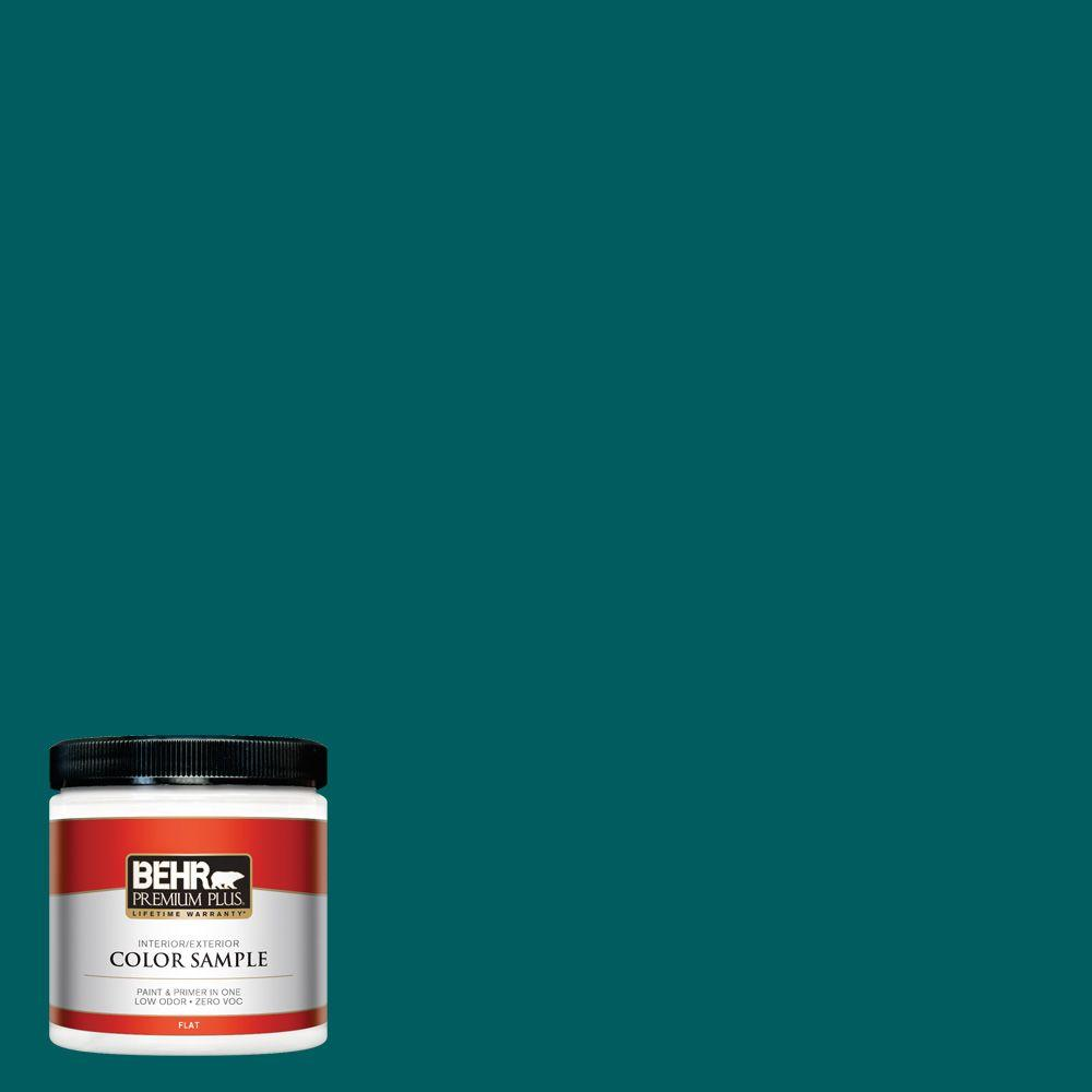 BEHR Premium Plus 8 oz. #S-H-500 Realm Interior/Exterior Paint Sample