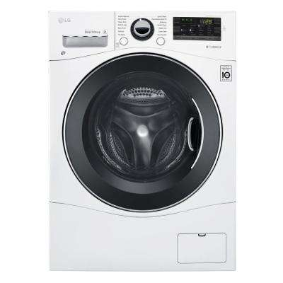 2.3 cu. ft. All-in-one Front Load Washer and Electric Ventless Dryer in White