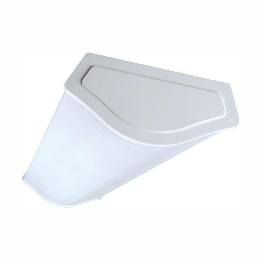 Nicor 4 Ft Fluorescent Designer Wraparound Fixture