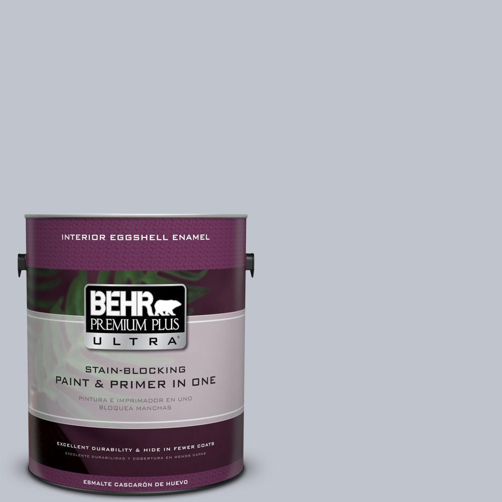 BEHR Premium Plus Ultra 1 gal. #N540-2 Glitter color Eggshell Enamel Interior Paint