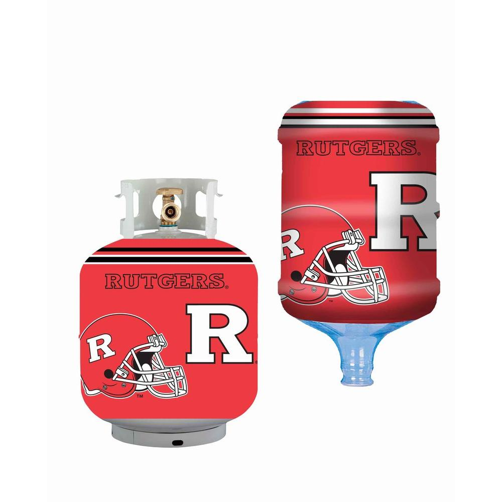 Bottle Skinz Rutgers Scarlet Knights Propane Tank Cover/5 Gal. Water Cooler Cover