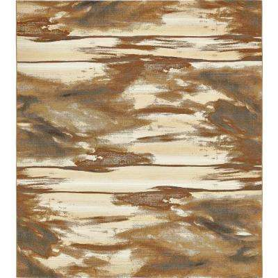 Outdoor Shore Brown 10' 0 x 12' 0 Area Rug
