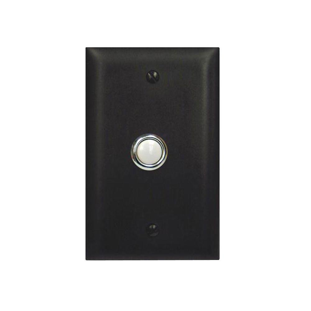 Viking Door Bell Button Panel - Bronze
