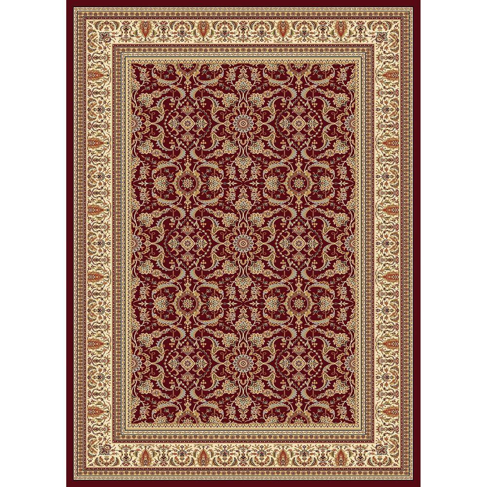 Williams Collection Izmir Red 7 ft. 10 in. x 10 ft.