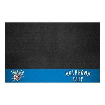 Oklahoma City Thunder 26 in. x 42 in. Grill Mat