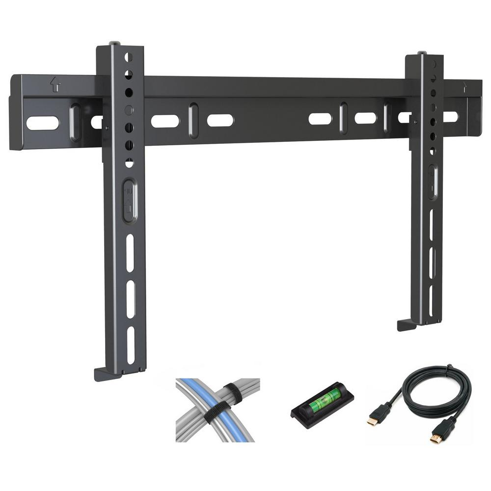 Low Profile Fixed TV Wall Mount for 17 in. - 42