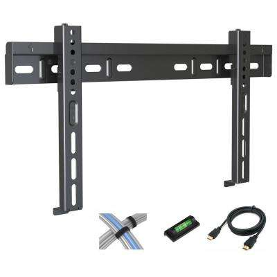 Low Profile Fixed TV Wall Mount for 17 in. - 42 in. Flat Screen TV
