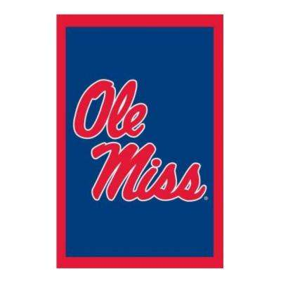 NCAA 28 in. x 44 in. Ole Miss 2-Sided Flag