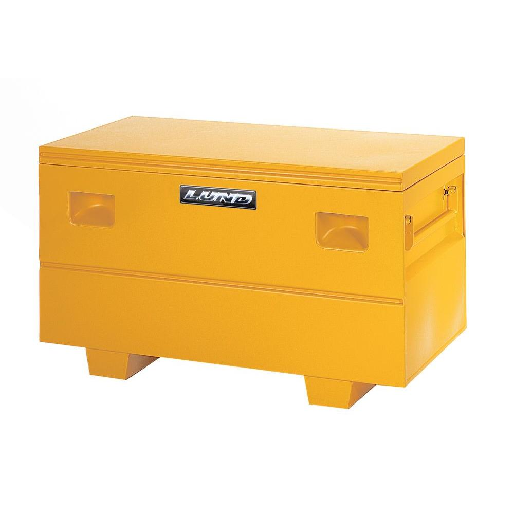 Lund 59.5 in Yellow Steel Full Size Chest Truck Tool Box