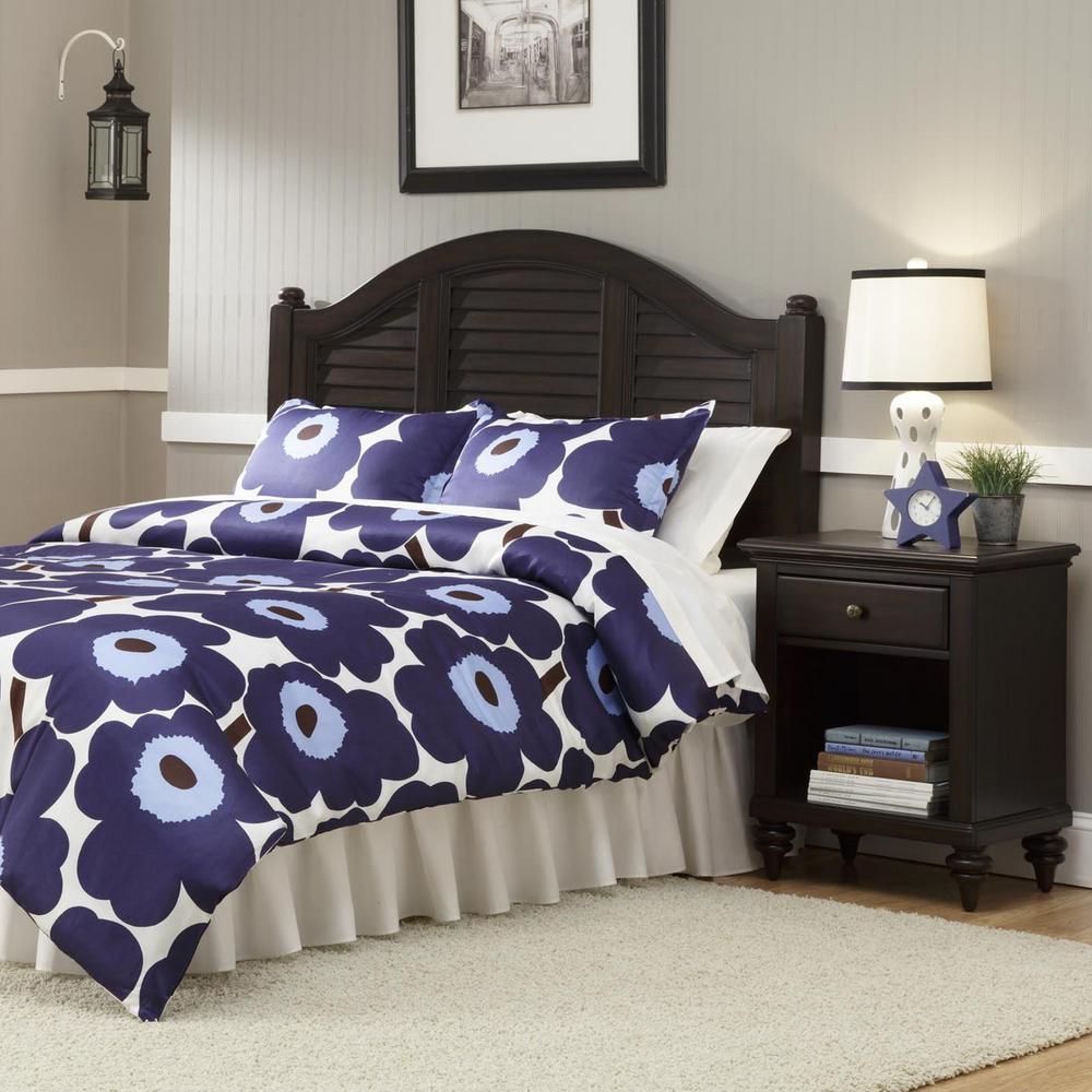 Home Styles Bermuda 2 Piece Espresso Queen Bedroom Set