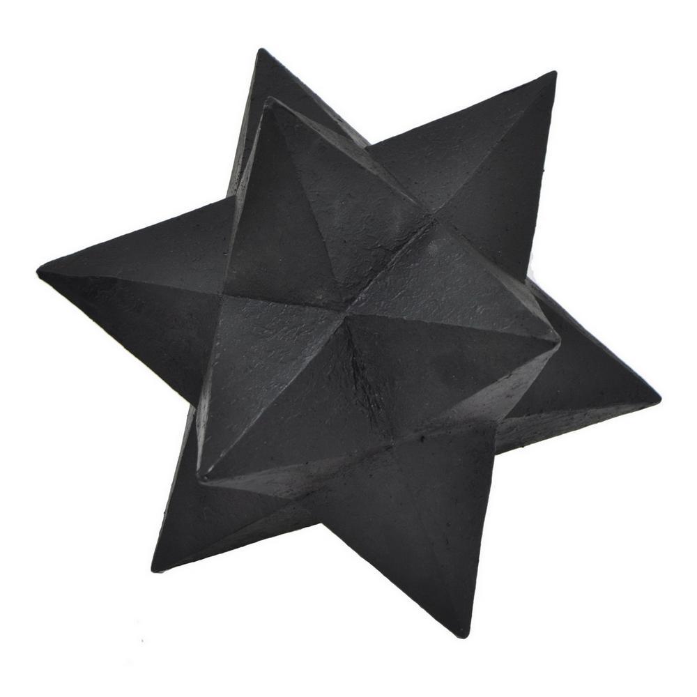 Black Resin Table Top Decor