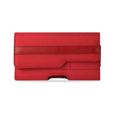 Large Horizontal Rugged Holster in Red