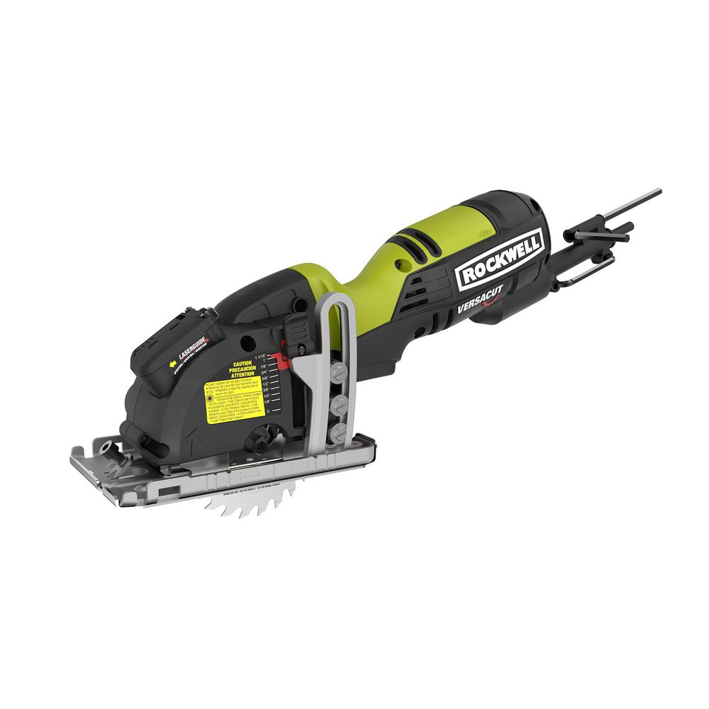 Rockwell Versacut 4 Amp Mini Circular Saw Rk3440k The