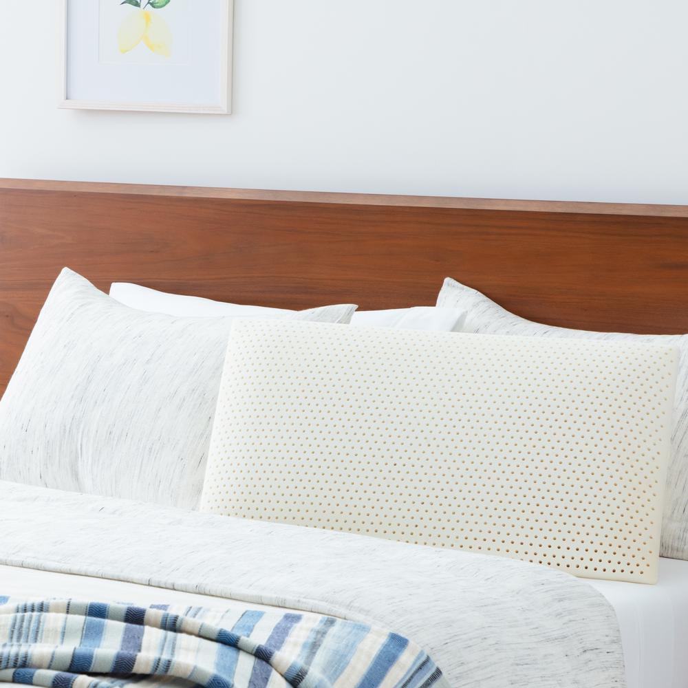 Talalay Queen Latex Pillow