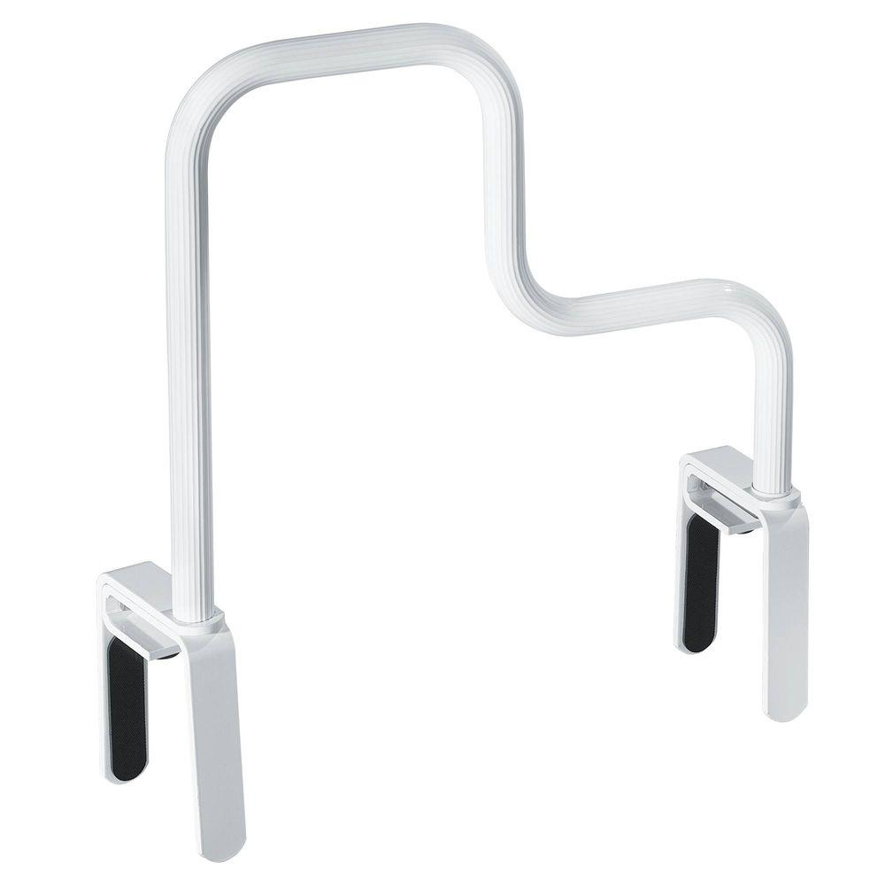 MOEN 16-1/2 in. Multi-Grip Tub Safety Bar in Glacier-DN7005 - The ...
