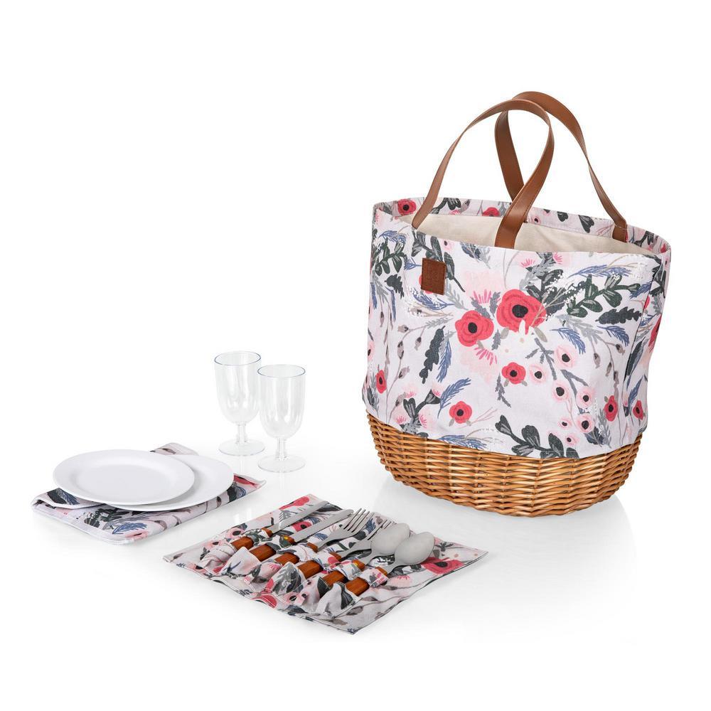 Promenade Floral Picnic Basket