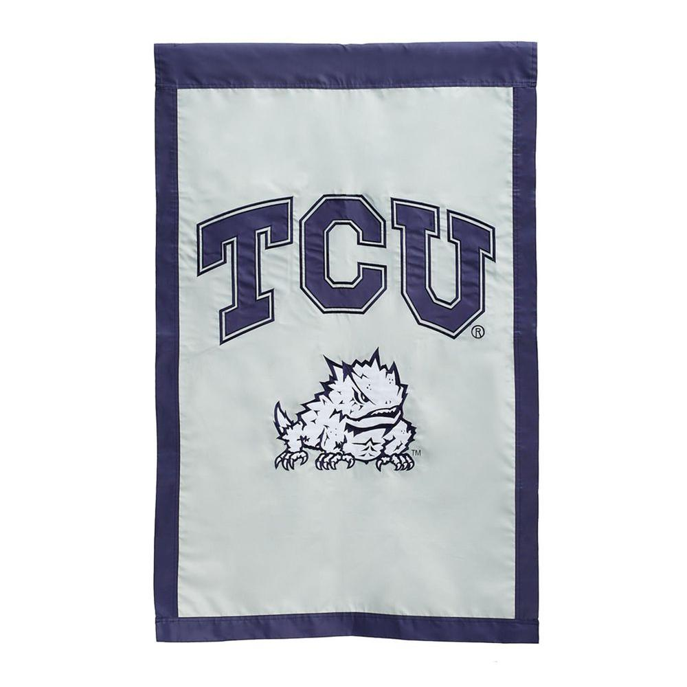 1 ft. x 1-1/2 ft. Texas Christian University 2-Sided Garden Flag