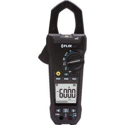 600-Amp Power Clamp Meter with VFD and Bluetooth