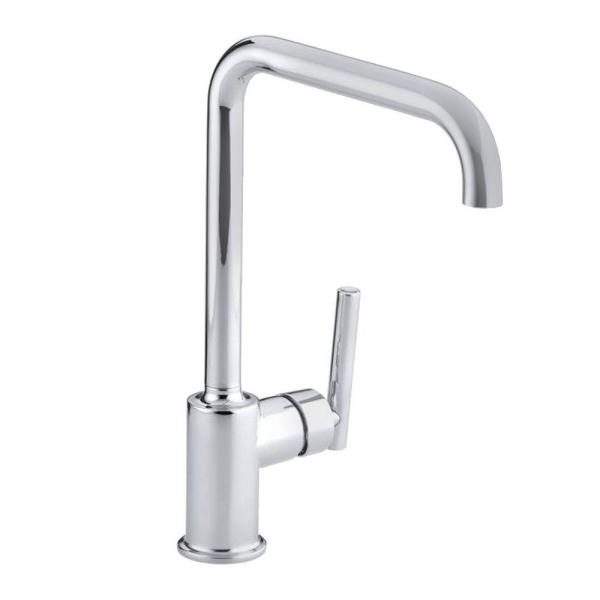 Purist Primary Single-Handle Standard Kitchen Faucet in Polished Chrome