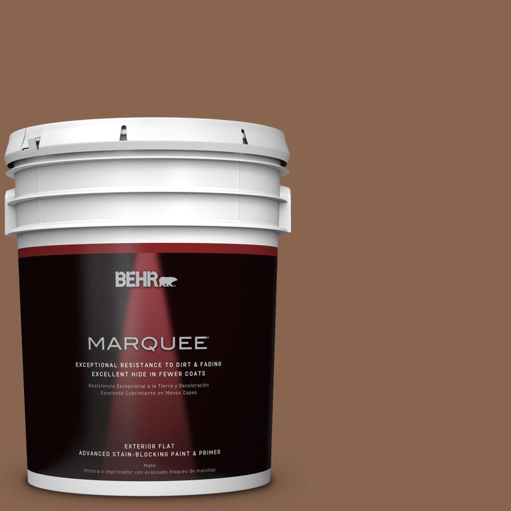 5-gal. #S220-7 Molasses Flat Exterior Paint